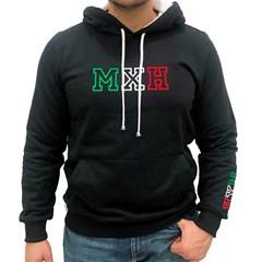 Moletom Mexican Hats Preto Theree Letters