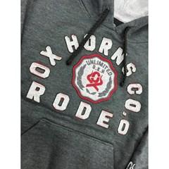 Moletom Ox Horns Infantil Chumbo 4037