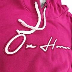 Moletom Ox Horns Infantil Pink 4041