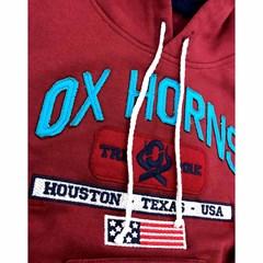 Moletom Ox Horns Infantil Vermelho/Bordado 4031