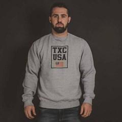Moletom TXC Brand Cinza Mescla 3079