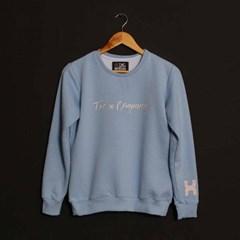 Moletom TXC Brand Feminino Azul Bebê 9011