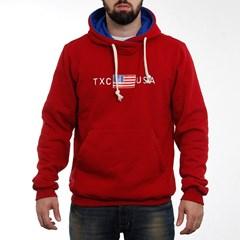 47443f68d Moletom TXC Brand Vermelho 3050 ...