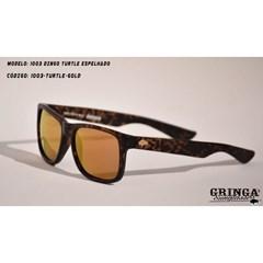 Óculos de Sol Gringa'S Western Turtle/Dourado 1003-DINGO