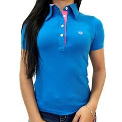 Polo Tuff Feminina Azul 2022