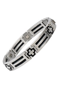 Pulseira Sabona Cross Cable Stainless Magnetic 370