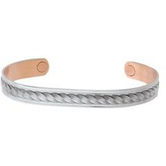 Pulseira Sabona Silver Rope Magnetic Wristband 537