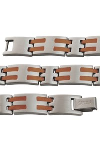 Pulseira Sabona Stainless Copper Bar Magnetic 561