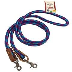 Rédea Weaver Nylon Fechada Azul/Turquesa/Pink 352026