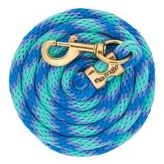 Rédea Weaver Nylon Fechada Verde Bebê/Azul/Lilás 352026