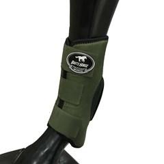 Skid Boot Boots Horse Neoprene Verde Militar BH-19