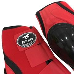 Skid Boot Boots Horse Neoprene Vermelho BH-19