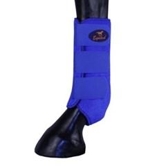 Splint Boot Equitech em Neoprene Azul CB01-EQ