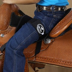 Suporte Infantil para Sela Boots Horse BH-7353 Azul