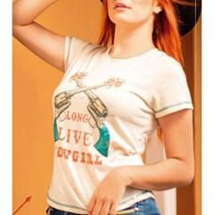 T-Shirt Miss Country Gun 712