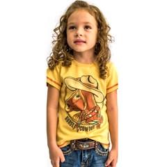 T-Shirt Miss Country Infantil Ambar 625