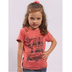 T-Shirt Miss Country Infantil Cowgirl 705