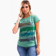 T-Shirt Miss Country Jade 097