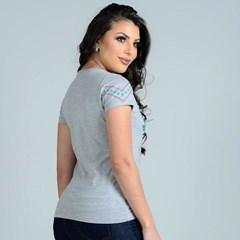 T-Shirt Ox Horns 6162