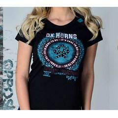 T-Shirt Ox Horns 6164