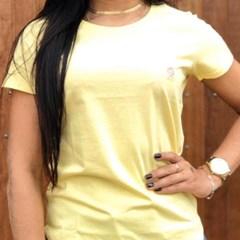 T-Shirt Ox Horns Amarelo Claro 8015
