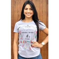 T-Shirt Ox Horns Cinza Mescla/ Estampa 6085