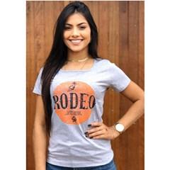 T-Shirt Ox Horns Cinza Mescla/ Estampa 6088