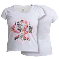 T-Shirt Ox Horns Feminina Branco/ Estampa 6033