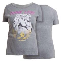 T-Shirt Ox Horns Feminina Grafite/ Estampa 6038