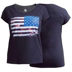 T-Shirt Ox Horns Feminina Preto/ Estampa 6039