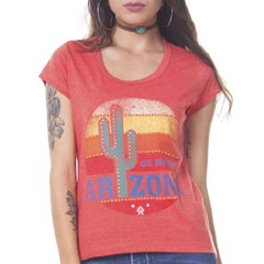 T-Shirt Ox Horns Laranja Mescla/ Estampa 6045