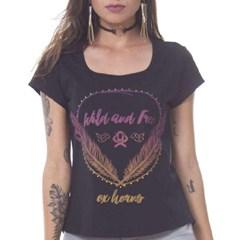 T-Shirt Ox Horns Preto/ Estampa 6043