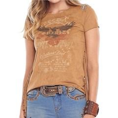 T-Shirt Tassa Gold Suede Caramelo 4250.1