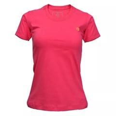 T-Shirt Tuff Feminina Pink Básica 056