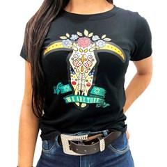 T-Shirt Tuff Feminina Preto TS-1280