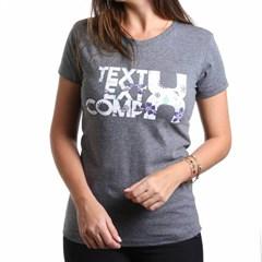 T-Shirt TXC Grafite Mescla 4261