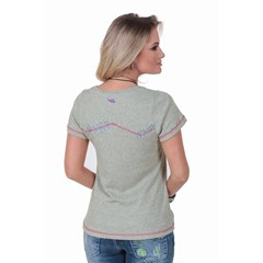 T-Shirt Zenz Western Lady Love ZW0418037