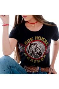 T-Shirt Zoe Horse Western 2096