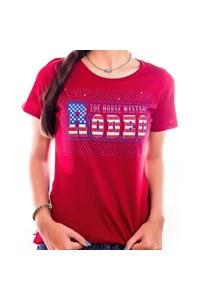 T-Shirt Zoe Horse Western 2103