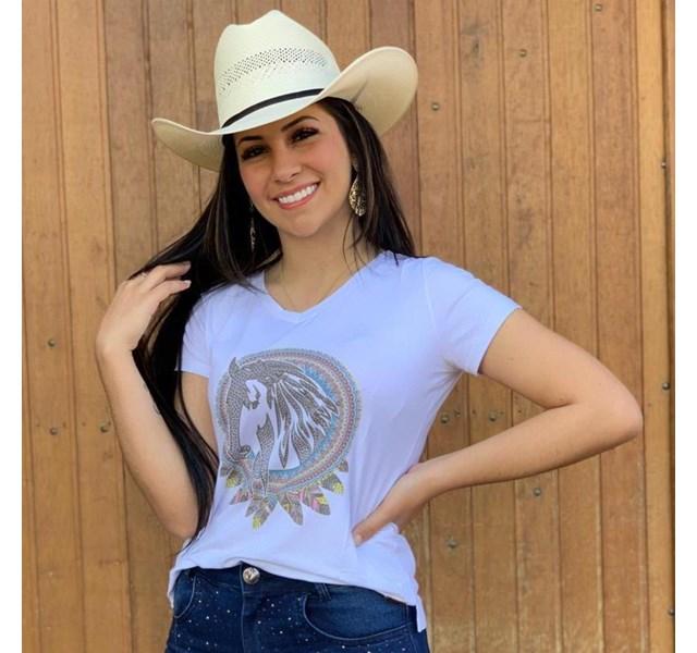 T-Shirt Zoe Horse Western 2117
