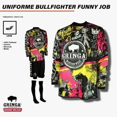 Uniforme Gringa'S Western Wear BULLFIGHTERS FUNNY JOB