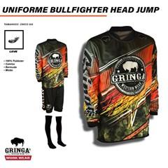 Uniforme Gringa'S Western Wear BULLFIGHTERS HEAD JUMP
