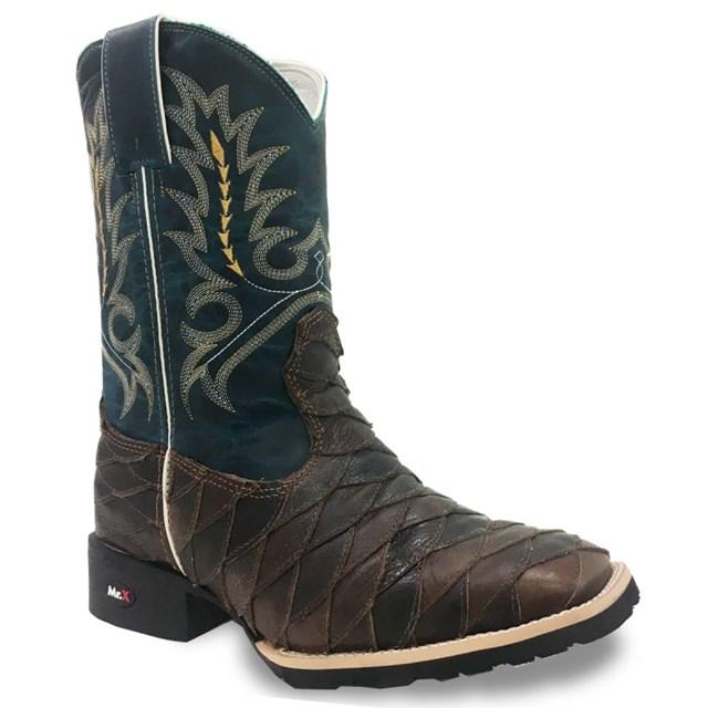 West Boots Escamada Mamute Tab/Fossil Azul 82554